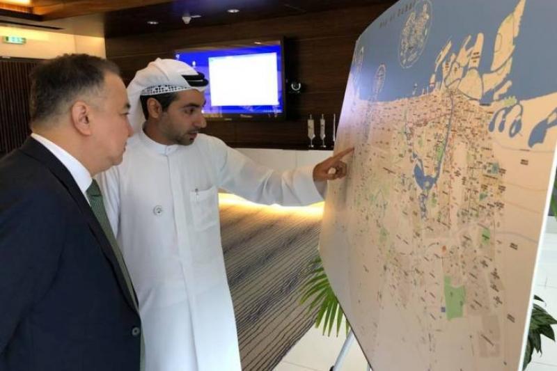 Создание инвестпарка обсудил аким Акмолинской области в Дубае