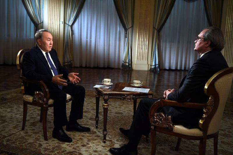 Nazarbayev: Astana process contributed to de-escalation in Syria
