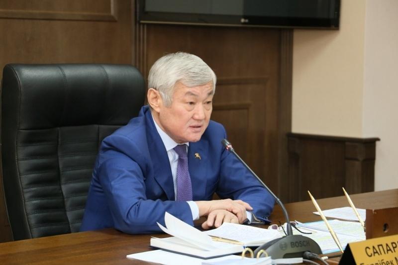 Бердыбек Сапарбаев призвал активизировать работу по микрокредитованию населения