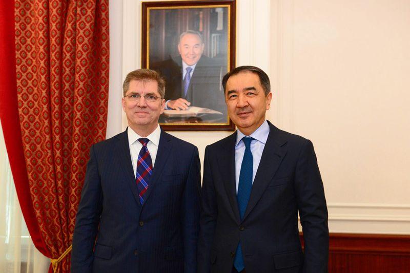 Бакытжан Сагинтаев встретился с главой Chevron в Евразии и на Ближнем Востоке