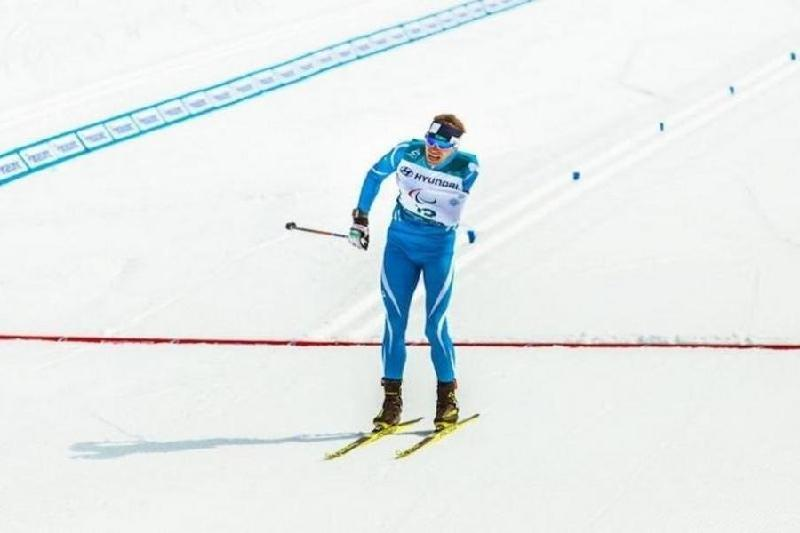 Kazakhstan's Gerlits comes in sixth in biathlon event at Paralympics