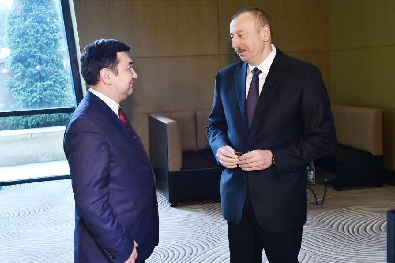 Президент Азербайджана принял главу Международной тюркской академии