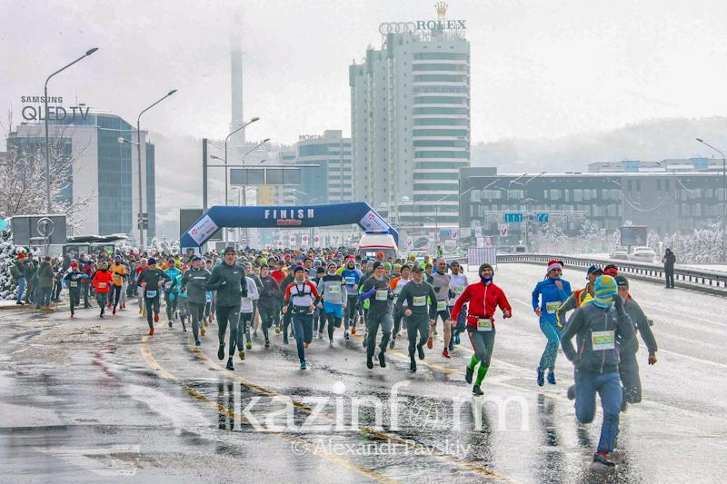 Алматыда көктемгі марафон басталды
