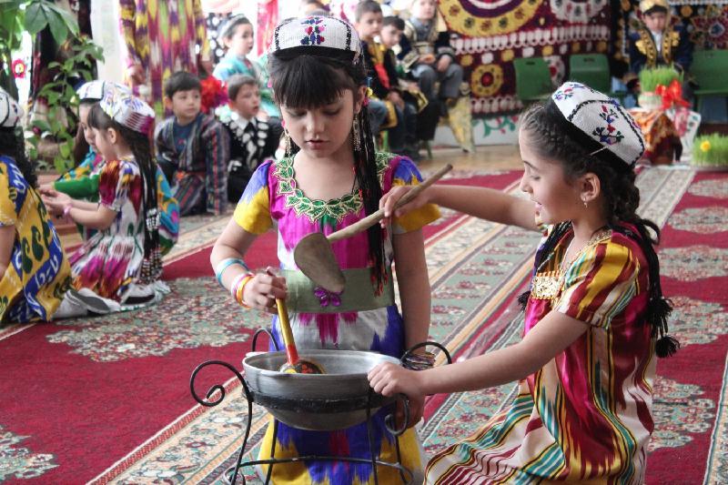 Как готовится сумалак на Наурыз