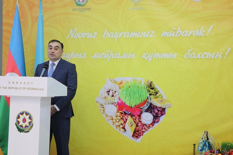 Наурыз мейрамы сближает наши народы - посол Азербайджана в РК