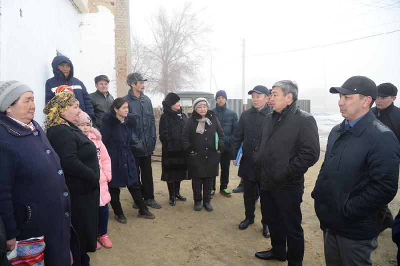 Құлаған тұрғын үйдің орнына 31 жер үй салынады - Қызылорда облысының әкімі