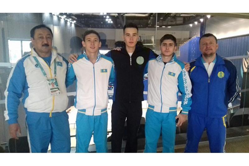 Три спортсмена представляют Казахстан на Кубке мира по спортивной гимнастике в Баку