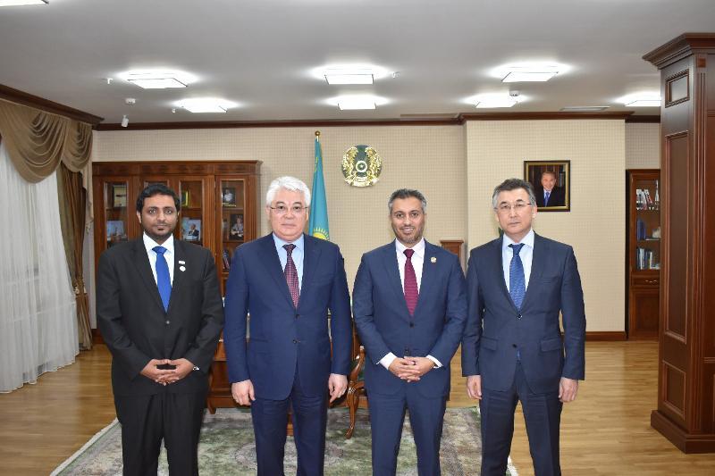 Kazakhstan, UAE intend to strengthen coop in the space sphere