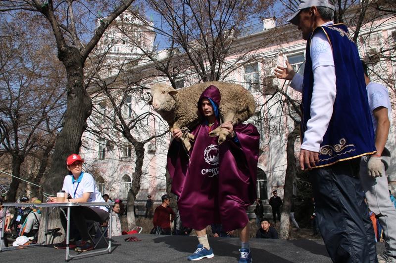 Алматыда  ұлттық спорт түрлерінен жарыстар өтті