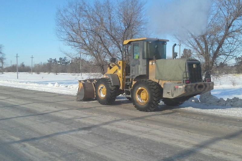 Тысячу тонн снега вывезли в Павлодаре за 4 часа