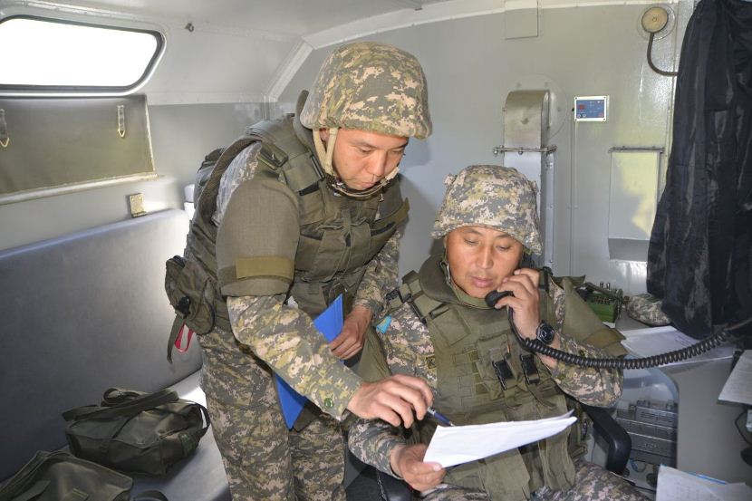 Алматы облысында десантшылар мен қарулы күш құрылымдар жаттығу өткізді