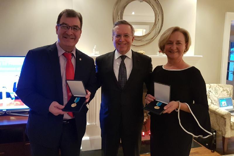 Kazakh Embassy honors members of Kazakh-Canadian Inter-Parliamentary Group