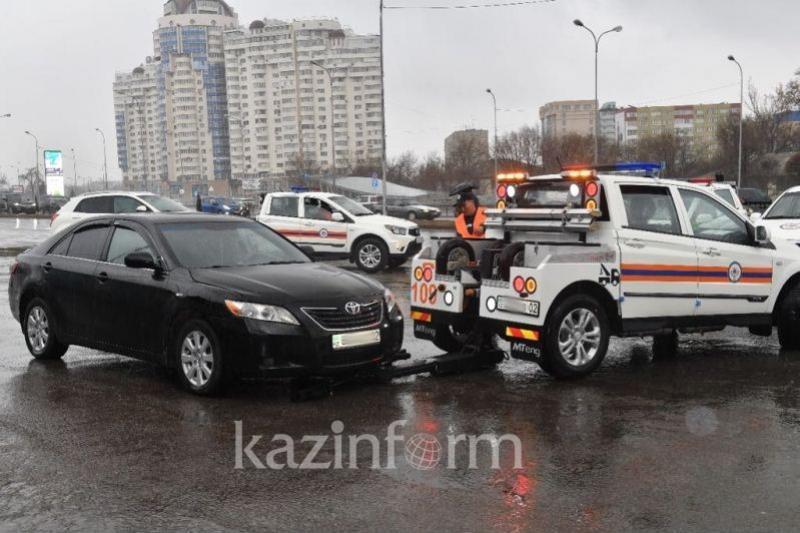 Алматы автопаркі 10 эвакуатормен толықты