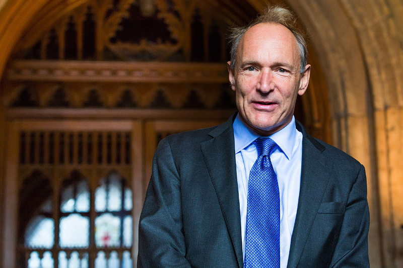 Sir Timothy Berners-Lee admits he's scared about future of his invention