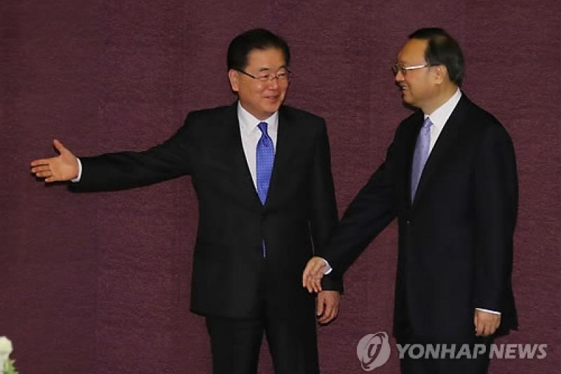 South Korea, China exchange views on DPRK nukes ahead of summit
