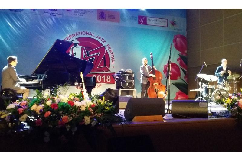 17th international jazz festival ongoing in Almaty