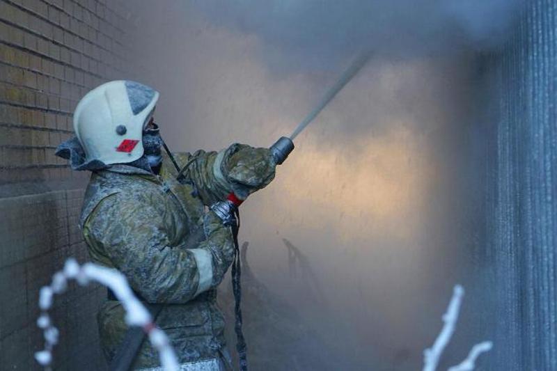 Мужчина сгорел при пожаре в жилом доме в Павлодаре