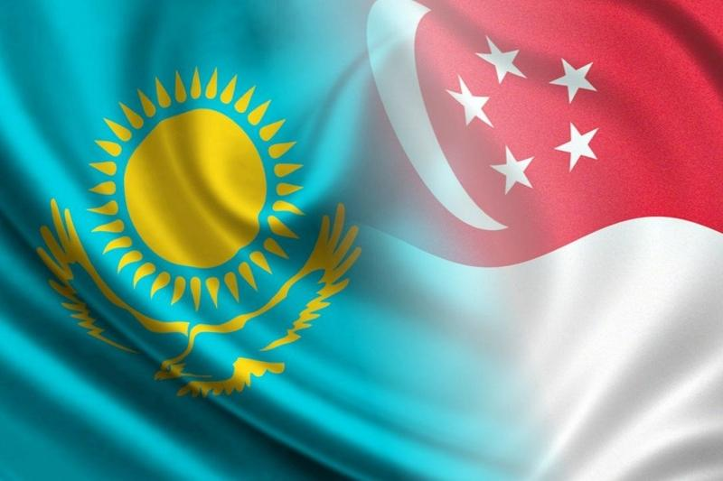 哈萨克斯坦和新加坡总统互致贺电祝贺建交25周年