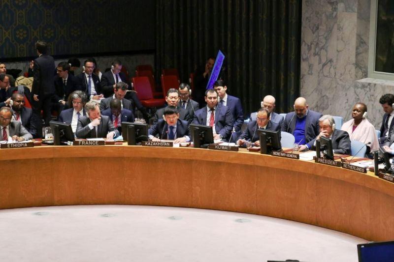 Делегация РК приняла участие на заседании СБ ООН по вопросам миротворчества