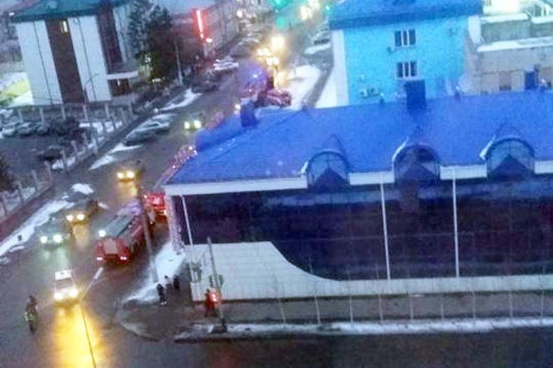 Посетителей ресторана эвакуировали в Петропавловске