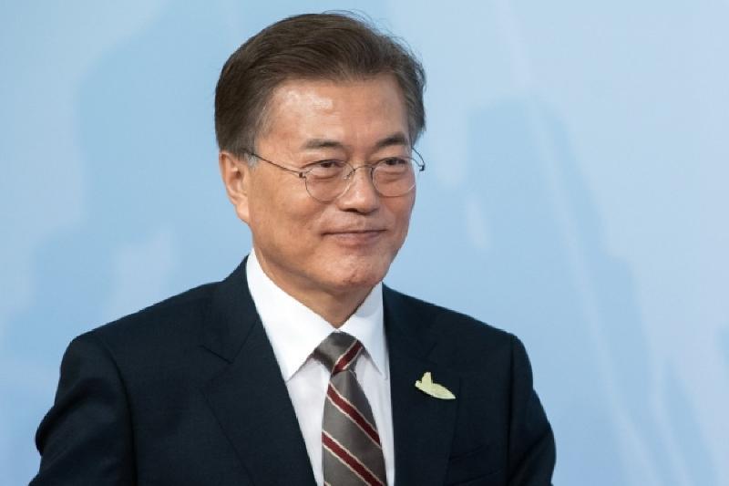 韩国总统文在寅即将首访阿拉木图