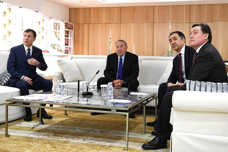 Нурсултан Назарбаев дал ряд поручений по развитию столицы