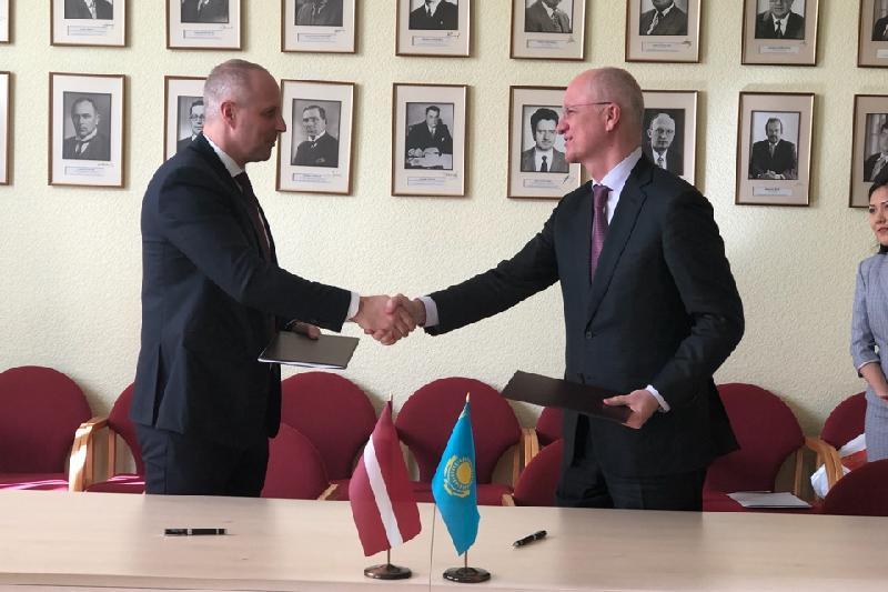 Kazakhstan, Latvia intend to develop transport co-op