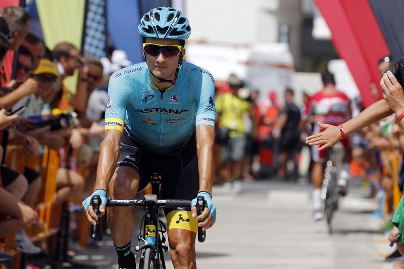 环巴斯克自行车赛:阿斯塔纳车队车手第三赛段进入前十
