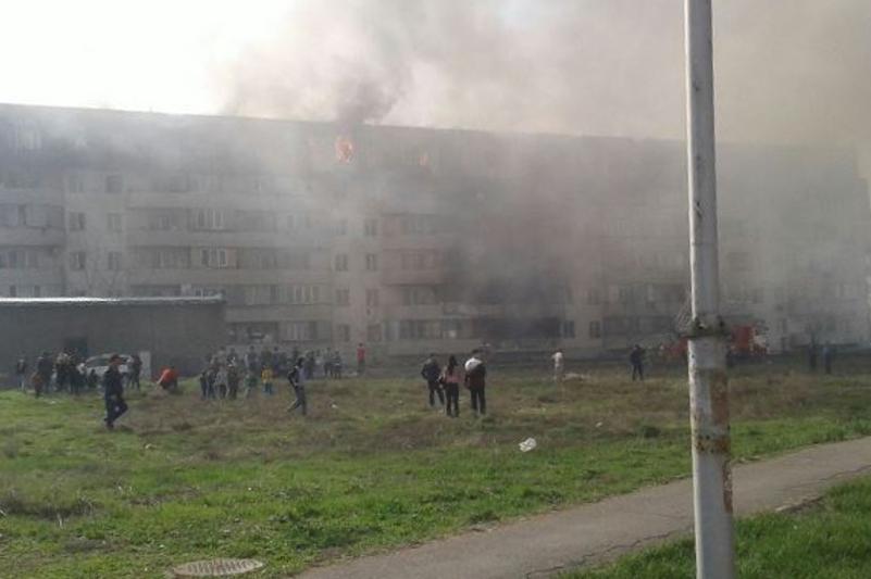 Алматыда өртенген үйден 300 адам эвакуацияланды
