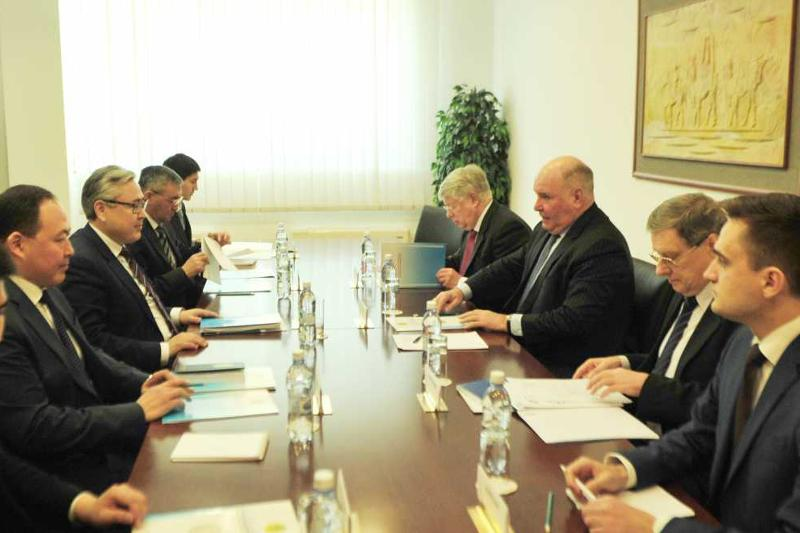 Kazakhstan, Russia hold political consultations in Astana