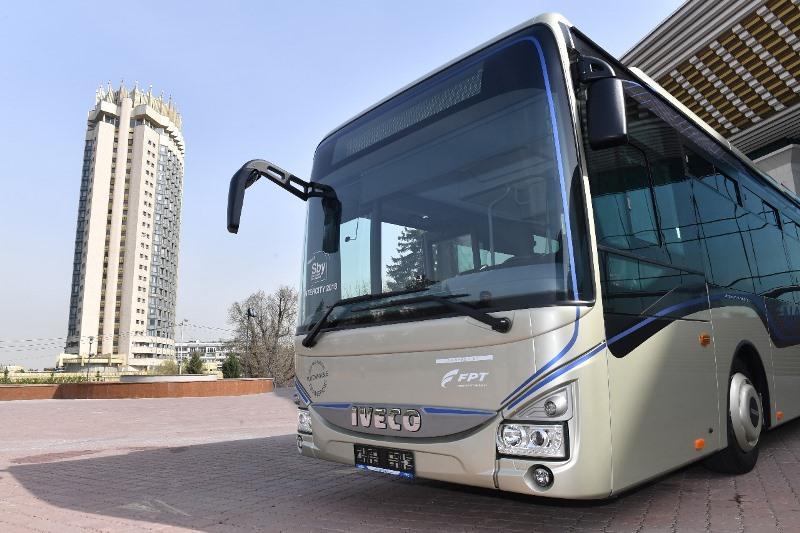 Алматыда газбен жүретін автобустарды тестілеу басталды