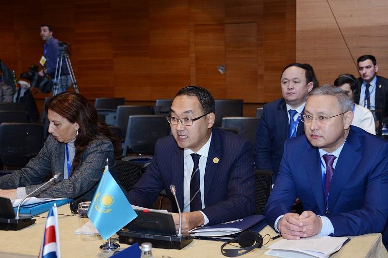 Қазақстан Қосылмау қозғалысының министрлік конференциясына қатысты