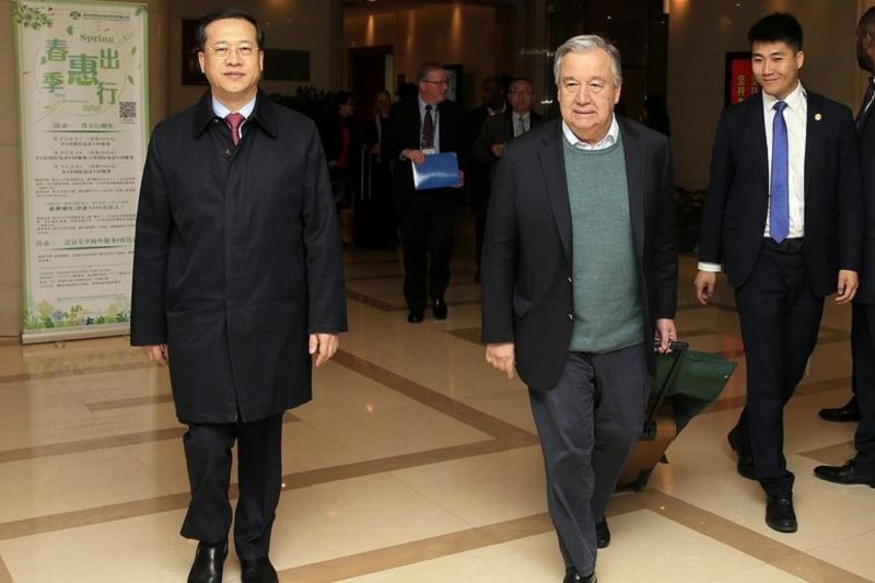 БҰҰ басшысы Қытайға сапармен барды