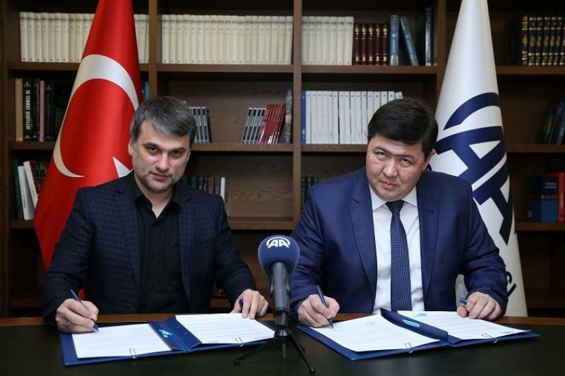 Казинформ подписал историческое соглашение с Anadolu Agency