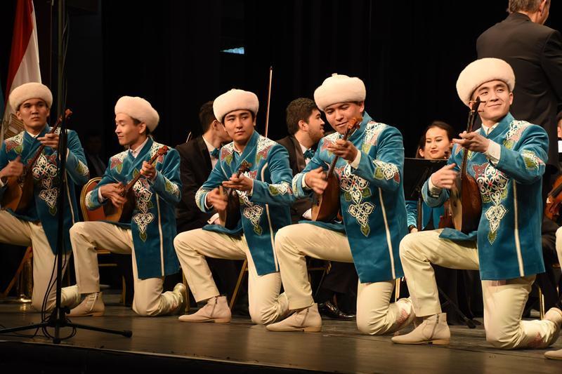 Концерт казахской классики прошел в Египте