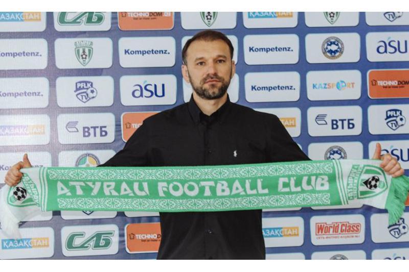 Главным тренером ФК «Атырау» стал специалист из Молдовы