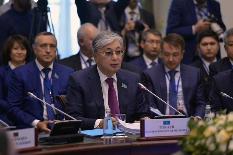Kassym-Jomart Tokayev takes part in IPA CIS Council meeting