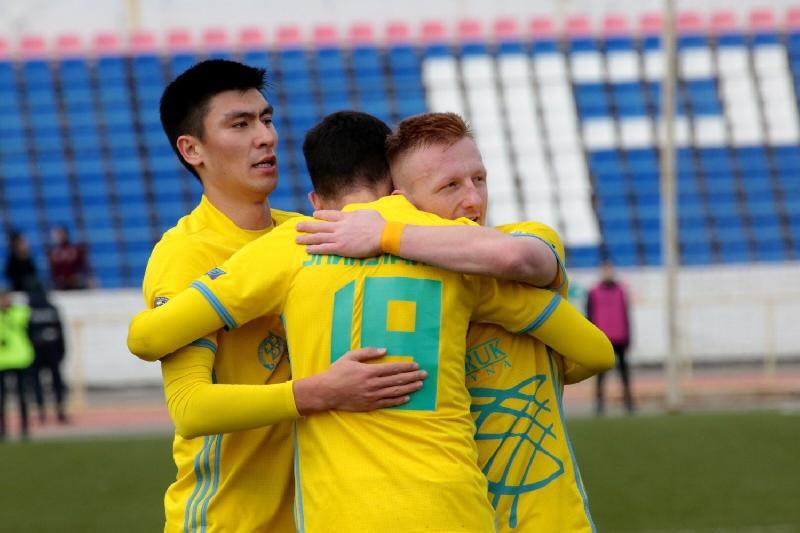 Футбол: «Астана» мен «Қайрат» тең тарқасты
