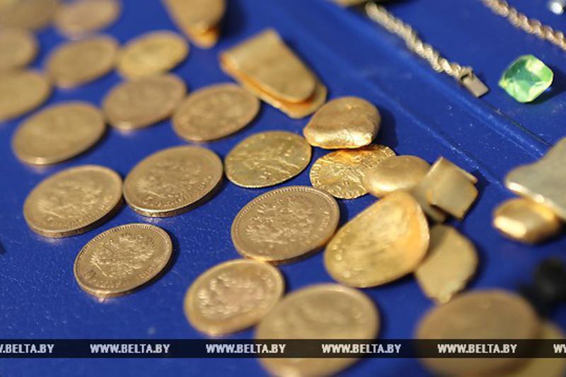 Беларусь жұмысшылары алтын қазына тауып алды