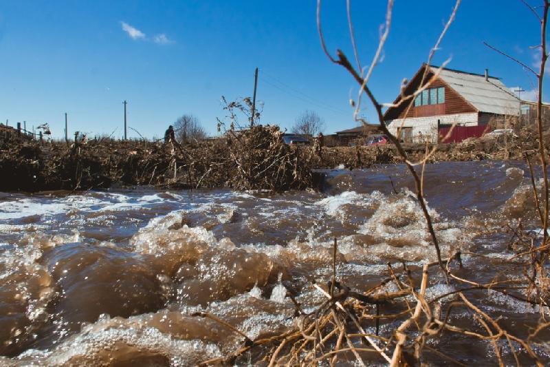 В СКО повышение уровня воды в притоках Есиля ожидают в начале апреля