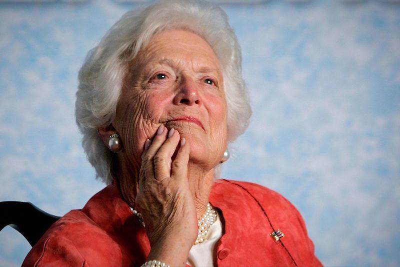 Мир прощается с экс-первой леди США Барбарой Буш
