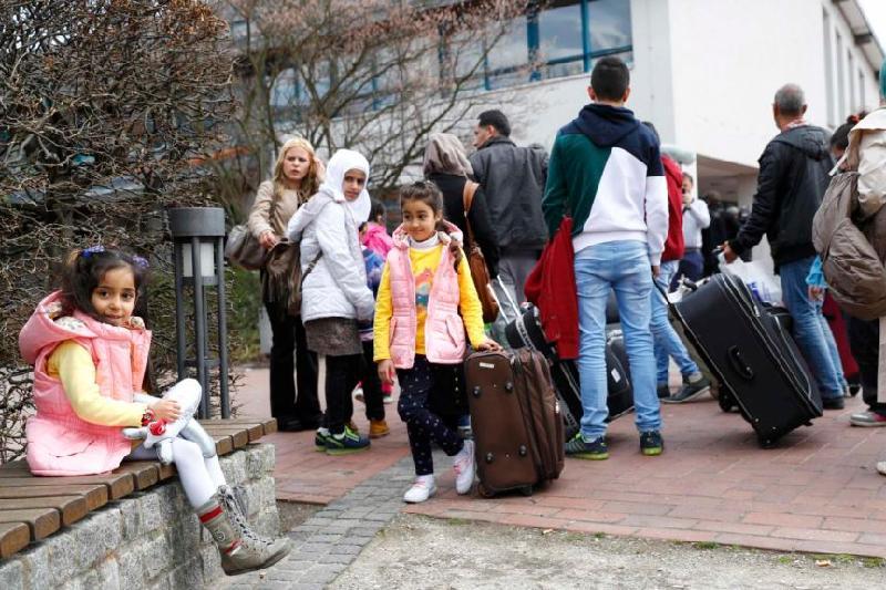2017年欧盟共接纳53.8万名难民