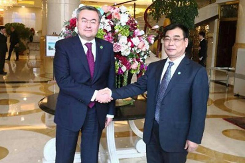 第一副外长访问乌鲁木齐  同中国新疆领导层讨论双边合作问题