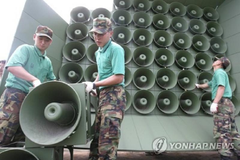 Оңтүстік Корея КХДР-мен шекарадағы үгіт-насихатты тоқтатады