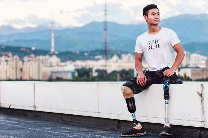 专访残疾人运动员赛力克•耶斯玛托夫