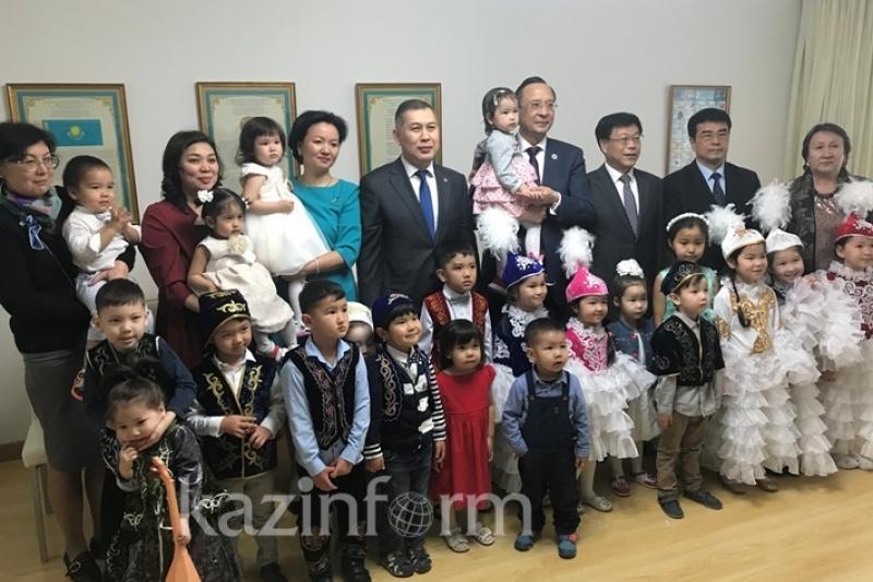 Первый казахстанский детский центр развития за рубежом открылся в Пекине