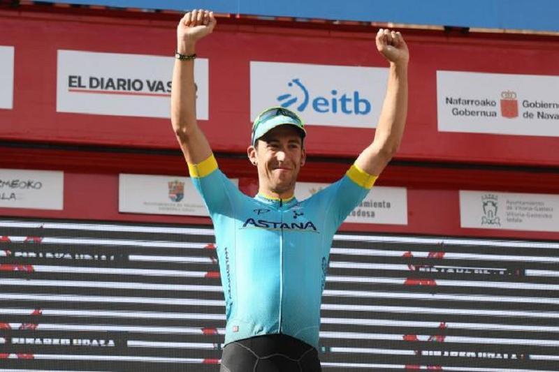 阿斯塔纳车队车手获得环罗曼地自行车赛首赛段冠军