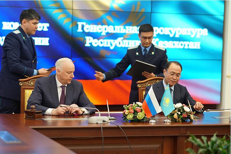 Генпрокуратура и Следственный комитет РФ подписали соглашение о сотрудничестве