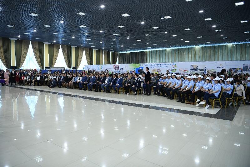 """WorldSkills Kazakhstan- 2018""地区间技能大赛在南哈州拉开帷幕"
