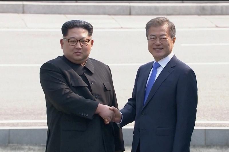 Ким Чен Ын Оңтүстік Кореяға барған КХДР-дың алғашқы басшысы болды